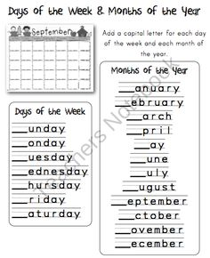 Capitalization On Pinterest Word Search First Grade And Anchor Charts