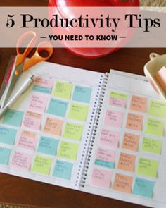 The Only 5 Productivity Tips You'll Ever Need to Know