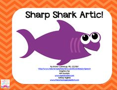Speechie Freebies: Shark Week Articulation!