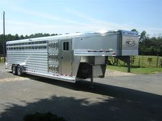 Thank you to the Orton Plantation for the purchase of your 2014 4-Star Stock/Combo Horse and Dog Box Trailer from LA Trailer Sales, LLC!! 800.350.0358