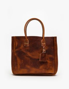 BillyKirk Leather Tote Bag