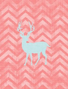 Free Printable Wall Art - Deer
