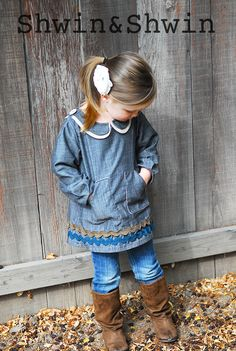 Shwin&Shwin: The Anna Tunic (and a jacket pattern sale!)