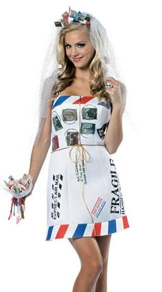 Mail order bride creative costume