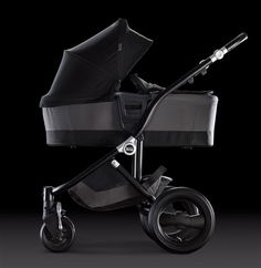 Affinity Stroller by Britax – Easily install a Bassinet with the Click & Go System #custom #baby #style