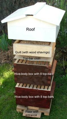 How to build a bee hive