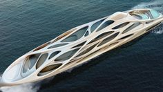 London Architect Designs a Family of Sci-Fi Looking SuperYachts
