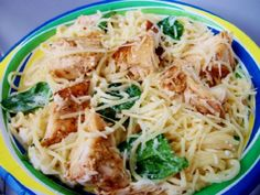 This recipe is adapted from Rachael Ray's Lemon Spaghetti