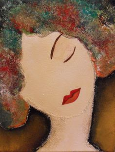 Dreaming Woman by Ruaa Al Bazirgan