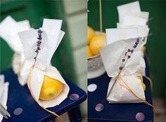 Lavender Lemon Favors