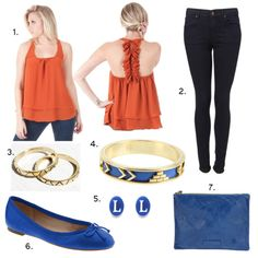 Cute Gameday outfit insp for Florida Gator fans