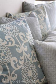 Waverize it! DiY Pillow Cover decor, living room colors, cushion covers, beach hous, bliss bee, waver fabric, hous dream, diy pillows, bedroom