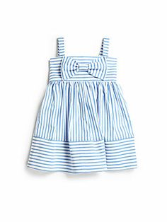 Isabel+Garreton Infant's+Striped+Sundress