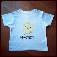 magnet shirt, chic magnet