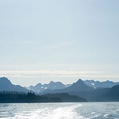 "3/29  ""The sea! the sea! the open sea!, The blue, the fresh, the ever free!""  ―Bryan W. Procter    Photo: Kachemak Bay, Alaska"