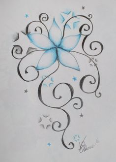 Stars and Flowers by ~your-mom--burn on deviantART