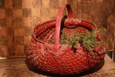 Early Red Basket....