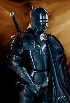 Medieval Dark Knight.
