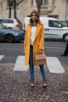 Paris Street Style Fall 2013 - Paris Fashion Week Style Fall 2013 - Harper's BAZAAR fashion weeks, paris fashion, paris street style fall 2013, fashion styles, france street style, pari fashion, fall outfits, street styles, street style fashion