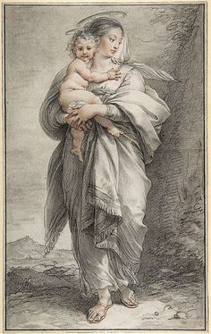 Cades, Giuseppe (1750-1799) - Virgin and Child (Metropolitan Museum of Art, New York City)  #TuscanyAgriturismoGiratola