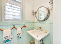 Nancy's MIRROR-round with chrome- Powder Room Design Ideas, Pictures, Remodel and Decor