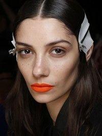 Orange Lips Trend Spring 2014