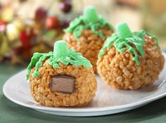 CARVE OUT SOME TIME WITH YOUR LITTLE PUMPKINS Recipe - Kellogg's® Rice Krispies®