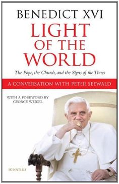 Light Of The World by Pope Benedict XVI Peter Seewald. $11.37. Publisher: Ignatius Press; 1st edition (November 23, 2010). 219 pages