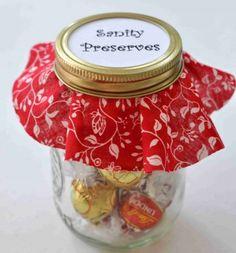 Teacher Gift Ideas. Sanity Preserves so cute.