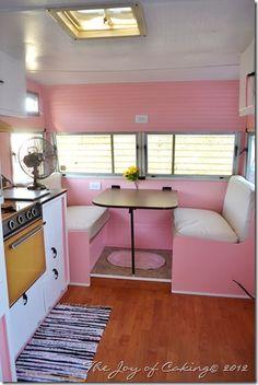 vintage trailers, camper trailers, vintage pink, vintage caravans, caravan interiors, vintage travel trailers, vintag trailer, vintag camper, vintage campers