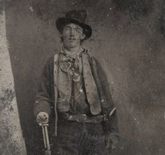 """The last words spoken by the notorious outlaw Billy the Kid—""""Who is it?""""—could sum up his life. Who was this young desperado? And how did he become the murdering fugitive who died, bounty on his head, by Sheriff Pat Garrett's gunshot at the age of 21?  Photography: Courtesy Brian Lebel's Old West Auction"""