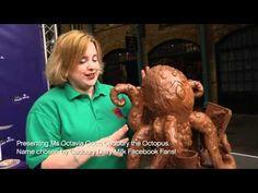 Cadbury Dairy Milk: Chocolate Sculptures in Covent Garden. Amazing!