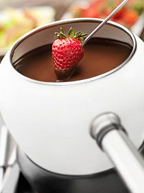 Strawberries + Chocolate