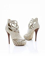 Woven Stiletto Sandal