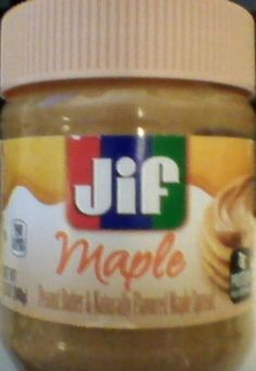 Free Jar - Jif Maple