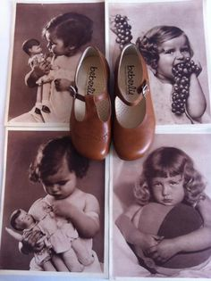 Beberlis Vintage shoes for it babies.