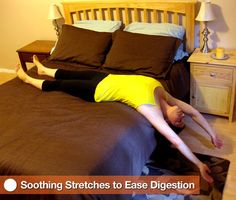 Soothing Stretches to Ease Digestion