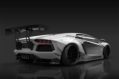 Japanese tuners Liberty Walk have unveiled their latest body kit for the Lamborghini Aventador.