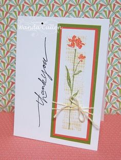 CAS Art of Life by cullenwr - Cards and Paper Crafts at Splitcoaststampers