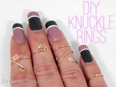 DIY Knuckle Rings by IrresistibleIcing