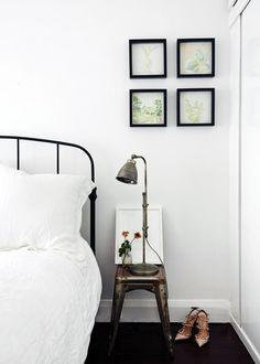 industrial nightstand | paul and sarah davies. design files