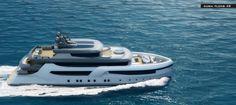 The Dubai 49 Yacht Concept by Uldas Yacht Design