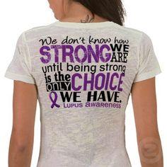 I want this shirt. #lupus