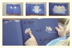 crayonfreckles: fun easy activities for the book Little Cloud #preschool