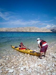 Kayaking in Croatia