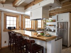 The prettiest country kitchen