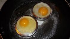 Repurpose Mason Jar Rings Into Egg Rings