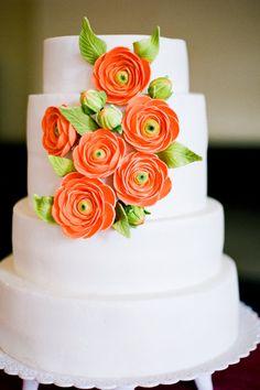 White Tiered Cake
