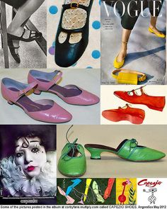 Capezio Shoe Collection by AngoraSox, via Flickr