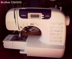 My favorite machine under 150 dollars. Brother 6000i Sewing Machine Review http://sewistry.com/2014/02/brother-6000i-sewing-machine-review-with-shannon-from-little-kids-grow/